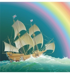 mayflower vector image