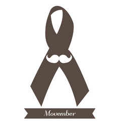 Movember graphic design vector