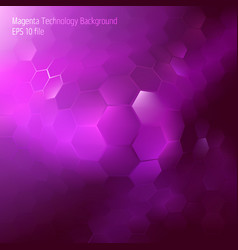 Abstract hexagon geometrical background vector