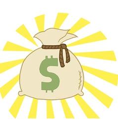 Bag of Cash vector image vector image