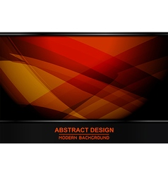 abstract orange backgrounds design vector image