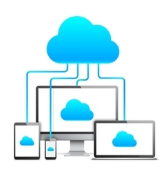 Cloud Technology Concept vector image