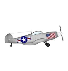 Fighter mustang vector