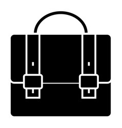 business case - portfolio icon vector image