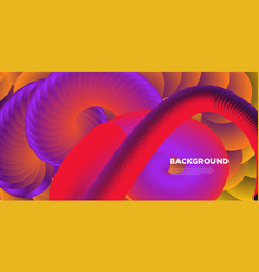 Colorful fluid and liquid background for banner vector