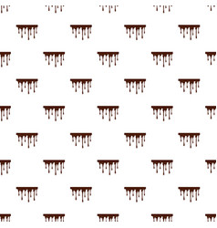 Flowing chocolate pattern vector