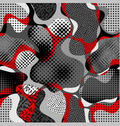Random polka dot pattern vector
