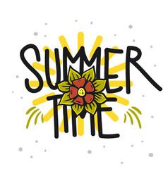 summer design for t shirt media vector image