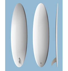 Surfboard Egg vector image