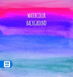 Abstract Colorful Watercolor Paintbrush background vector image