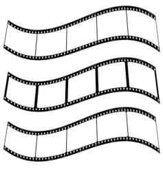 photo film strip warp vector image vector image