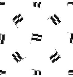 Egyptian flag pattern seamless black vector