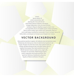 background with pentagons vector image