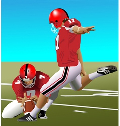Field Goal vector image