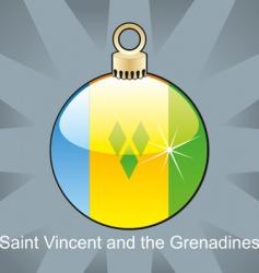 Grenadines flag vector image