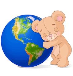 Love Earth Bear vector