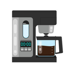 office coffee machine flat vector image