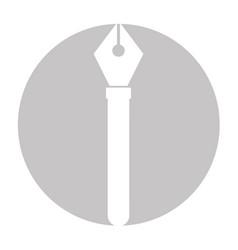 Pen tip draw vector