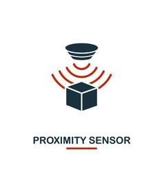 Proximity sensor icon from sensors icons vector