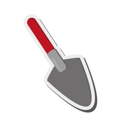 single trowel icon vector image