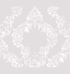 Vintage acanthus decor ornamented pattern vector