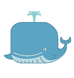 Wale vector image