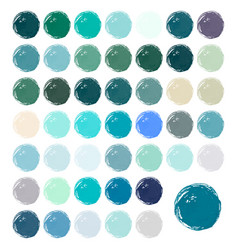 watercolour blobs stains splashes vector image