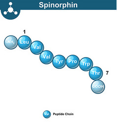 Spinorphin molecular structure amino acid sequence vector