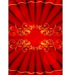 Luxury Backdrop vector image vector image