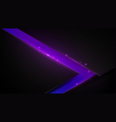 black and purple abstract triangle background vector image