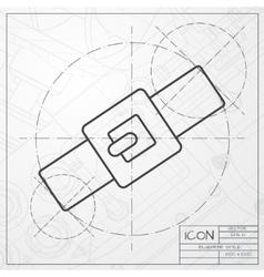 collar vector image vector image