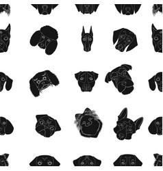 Doberman dalmatian dachshund spitz stafford vector