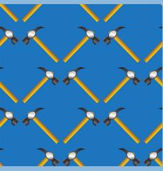 Hammer seamless random pattern vector