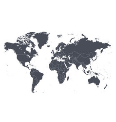 Map world vector