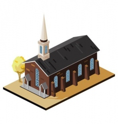 Old church vector