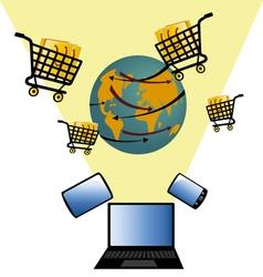 Sales online 3 vector
