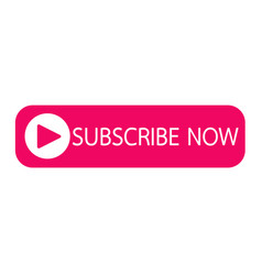 Subscribe now button icon design vector