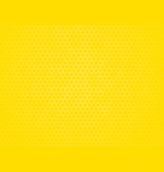 yellow outline hexagon pattern vector image