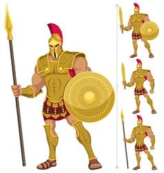 Greek Hero vector image