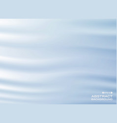 abstract of wavy blue gradient background vector image