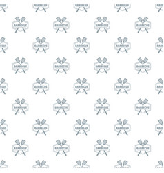 barbecue pattern seamless vector image