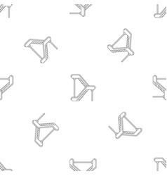 Double escalator pattern seamless vector
