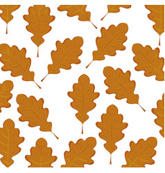 dry leaves background vector image