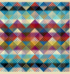 geometric abstract pattern polka dot pattern on vector image
