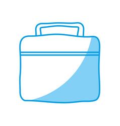 Gym bag icon vector