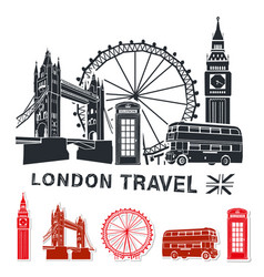 London travel vector