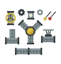 Machine parts vector image