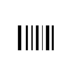 scan barcode icon signs and symbols can be used vector image