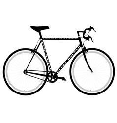 sports bike vector image vector image