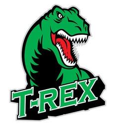 T-rex mascot vector
